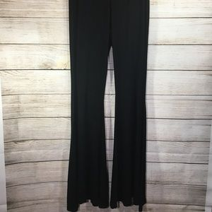 Foreign Exchange High Waist Flare Leg Stretch Pant